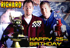 MST3K Mystery Science Theater 3000 3K personalised ART greeting Birthday Card