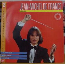 JEAN MICHEL DE FRANCE STRINGS DOUBLE FRENCH LP RE-ISSUE PATHE 1989