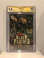 Black Panther #1 CGC SS 9.8 Shuri Variant  Signed by Ken Lashley