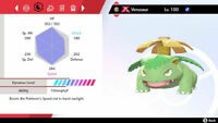 Pokemon Sword Shield GMAX CHARIZARD BLASTOISE VENUSAUR BUNDLE 6IV Isle Of Armor