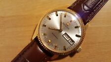 OROLOGIO ZENITH AUTOMATIC DAY-DATE WATCH ORO/GOLD 18K/0,750 ETA 2832 36000 A/h !