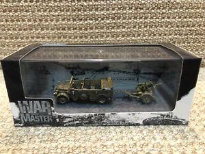 Solido War Master 1:72 Steyr 1500 A/01 with 20mm Flak 38, Ltd. Edition, TK0056