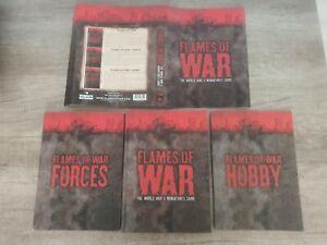 Flames of War Bundle: Flames of War / Forces / Hobby, Hardcover, RPG
