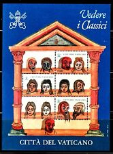 VATICANO 1997 HB 17 Exposición en el Vaticano.