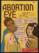 Abortion Eve  Underground Comix   1st Printing  1973