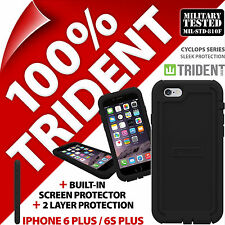 Trident Cyclops Noir étui protection Robuste pour Apple iPhone 6 Plus/6S plus