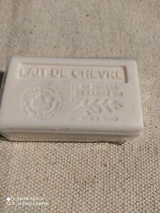Savon BIO beurre de karité LAIT DE CHEVRE 125 g (LOT DE 5 )