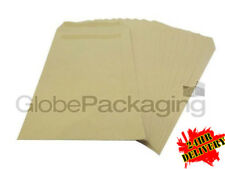 1000 x C5/A5 Plain Manilla Self Seal Brown Envelopes SS 90gsm *OFFER*