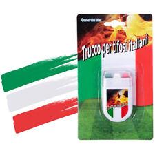 Trucco per Tifosi Bandiera Italia Italiana Stick Make Up Viso Calcio Sport dfh