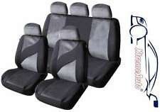 9 PCE EDINBURGH TWEED LOOK STYLE SEAT COVERS FOR Toyota Auris Yaris Corolla