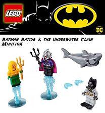 Lego DC Batman Batsub & the Underwater Clash! Ocean Master, Aqua man new 2019
