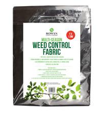 1.5m x 1m Weed Control Fabric Sheet Cover Multi Season Landscape Mulch Membrane