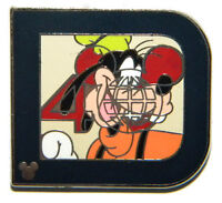 Disney WDW Hidden Mickey Series Classic 'D' Collection Goofy Pin