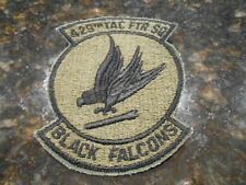 U.S.A.F  429th Tactical Fighter Squadron (Black Falcons) Patch.