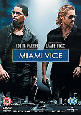 Miami Vice:Jamie Foxx,Colin Farrell, Gong Li, Ciaran Hinds (Action DVD, 2006)