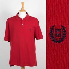 MENS RALPH LAUREN CHAPS POLO T-SHIRT RED PIQUE COTTON SHIRT CASUAL PREPPY XL