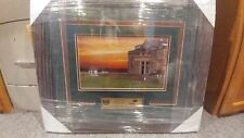 Framed Matted Photo St. Andrews August 8, 2007 Rite Aid Miracle Classic- CHARITY