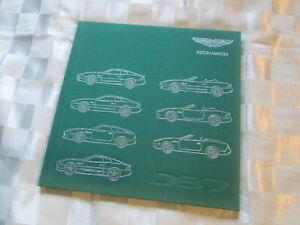 NOS Aston Martin DB7 Prestige Hardback Sales Brochure History Zagato Dunhill