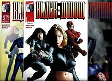 Black widow 1-3 complet Marvel Knights