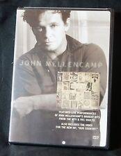 John Cougar Mellencamp (DVD, 2007) VH-1 Storytellers, MTV Unplugged, Our Country