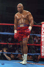 George Foreman SIGNED 12x18 Photo + 2003 HOF Boxing PSA/DNA AUTOGRAPHED