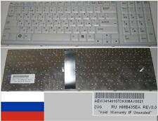 Clavier Qwerty Russe LG S900 HMB435EA AEW34146107 Blanc