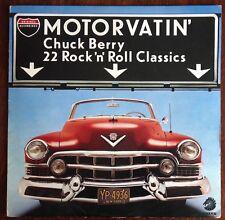 """MOTORVATIN' ,CHUCK BERRY,VINTAGE 1977 ALBUM,12"""" LP 33,EXCELLENT CONDITION"""