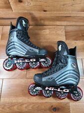 Mission Helium 150 Hi-Lo Inline Hockey Skates Roller Blades Size 6D