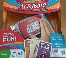 BRAND NEW!! SCRABBLE Turbo Slam Electronic Fun Game