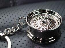 Felge Schlüsselanhänger BBS Style- Chrom Metall sehr edel und hochwertig Tuning