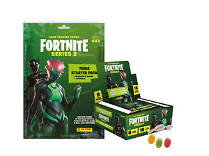 Panini Fortnite Trading Cards Serie 2 US Version - 1x Starter Pack + 1 Display