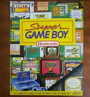 Super Game Boy Nintendo Complete Player's Strategy Guide Colorful Magazine 1994