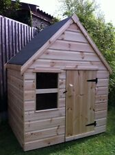 Childrens Wooden Play House/Wendy House 4' x 4' - CAN DELIVER