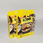 LODGE Cast Iron Parchment Paper Dutch Oven Liners, 8 Liners per Box — Set of 2