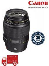 Canon 100mm F2.8 EF Macro USM Lens 4657A006 (UK Stock)