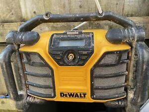 Dewalt Dcr017 Dab Radio/charger