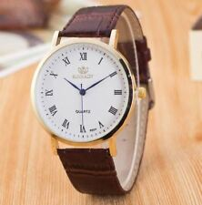 Smart Watch Brown Slim Thin Great Present Analogue  Birthday Top Quality UK
