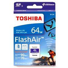 Toshiba Flash Air W-04 64GB SD Memory Card