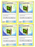 Electromagnetic Radar 169/214 - Pokemon Unbroken Bond 4 Card Lot Trainer Playset