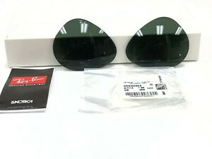 AUTHENTIC RAY-BAN RB3026 L2821 62MM REPLACEMENT GREEN LENSES