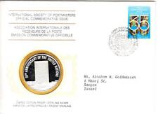 1980 Int'l Society of Postmasters 35th anniversary of the UN Silver Medal