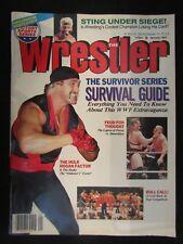 The Wrestler January 1991 Wrestling Magazine Sting Dusty Rhodes Hulk Hogan