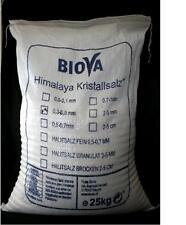 25 Kg Himalaya Salz aus Pakistan Biova Kristallsalz (fein 0,3-0,5mm)