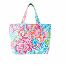 Lilly Pulitzer BEACH TOTE BAG - LET'S CHA CHA