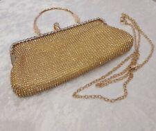 Ladies Wedding Prom Party Womens Evening Crystal Diamante Clutch Box Purse Bags