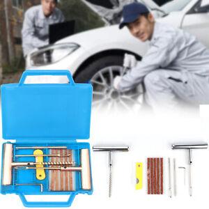11x Réparation Tubeless Crevaison meche Pneu Pneu Réparation Voiture Moto Outils