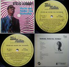 STEVIE WONDER MY CHERIE AMOUR 1970 MONO UNIQ CVR & ALBUM TITLE PROMO CHILEAN PRS