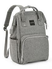 Modernism Gray Backpack Diaperbag