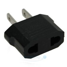 Eu Euro Europe to Us Usa Power Jack Wall Plug Converter Travel Adapter Adaptor