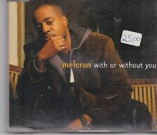 Melcrun-With Or Without You cd maxi single
